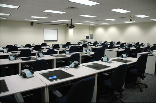 Distance Learning Center Classroom
